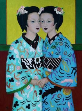 Two Geishas (Mary Caspar)