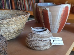 Sally's baskets on show