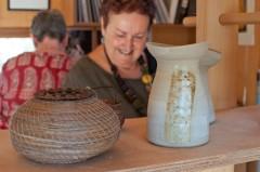 Sally baskets 3 & a pot
