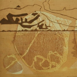 Sullivan.Richard.'Tanami Claypan'.Collagraph